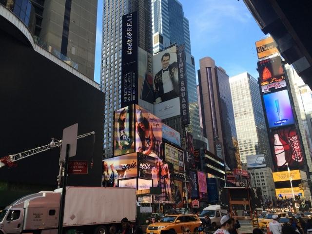 NYで見かけたデジタルサイネージPart1
