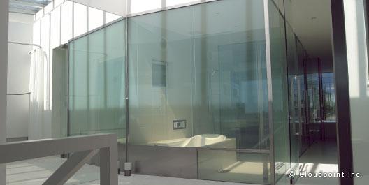 開放感のある浴室へ導入
