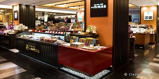 京都 The CUBE 京都らしい賑わいを演出