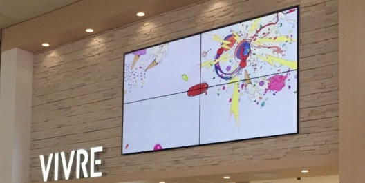 「三宮VIVRE」正面入口!店頭の一番目立つところから店舗情報を発信中です!