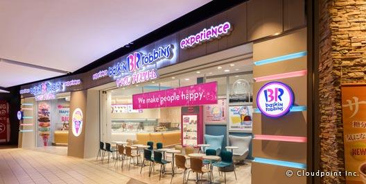 デジタルサイネージの多店舗展開~サーティワンアイスクリーム~