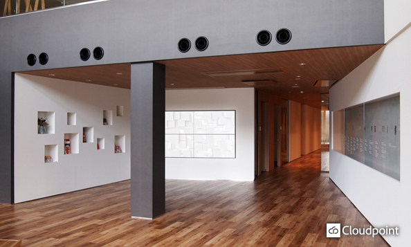 新社屋のトータルビジュアルデザイン