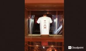 グラニフ _プロジェクションTシャツ02