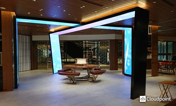 LEXUS新日比谷プロジェクト LEDクロスゲート工事