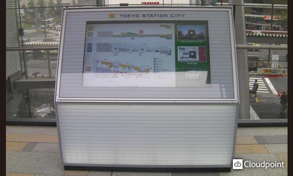 東京駅グランルーフ_デジタルサイネージ02