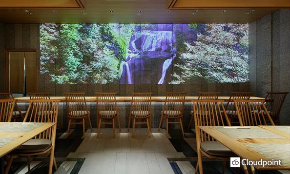 4K動画コンテンツ プロジェクター投影で 茨城観光スポットを雄大に表現