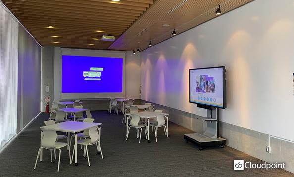 新領域環境棟に新たなる情報共有空間の醸成